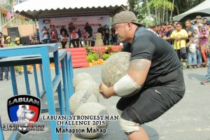 The Atlas Stones are regarded as the signature event in the strongestman contest